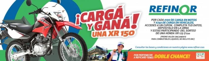 ¡Cargá y Ganá una XR150!